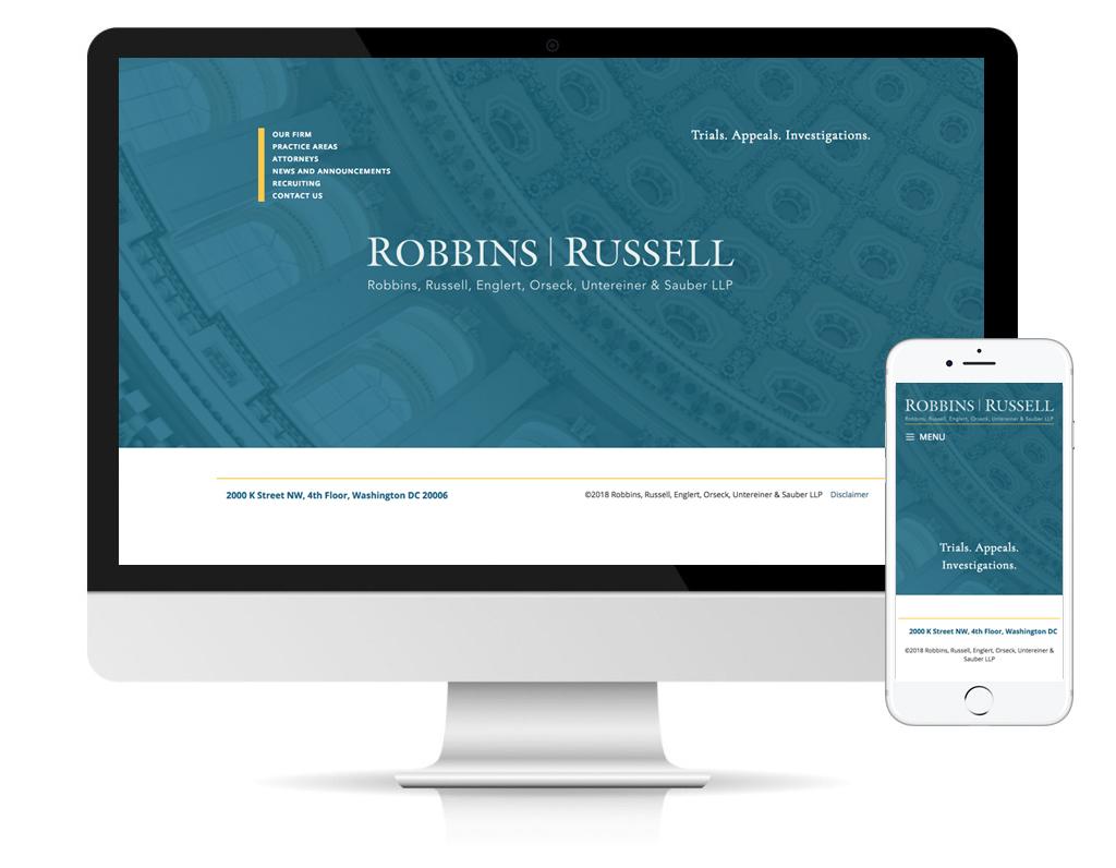 Robbins Russell homepage