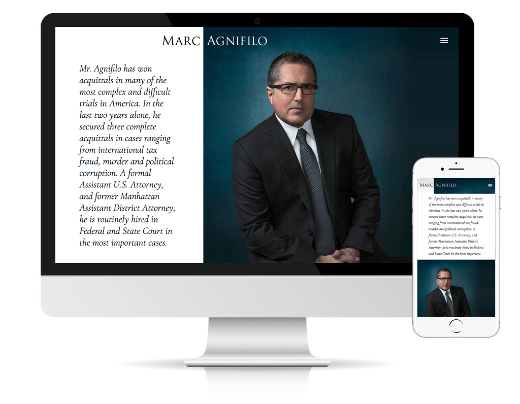 Marc Afnifilo website