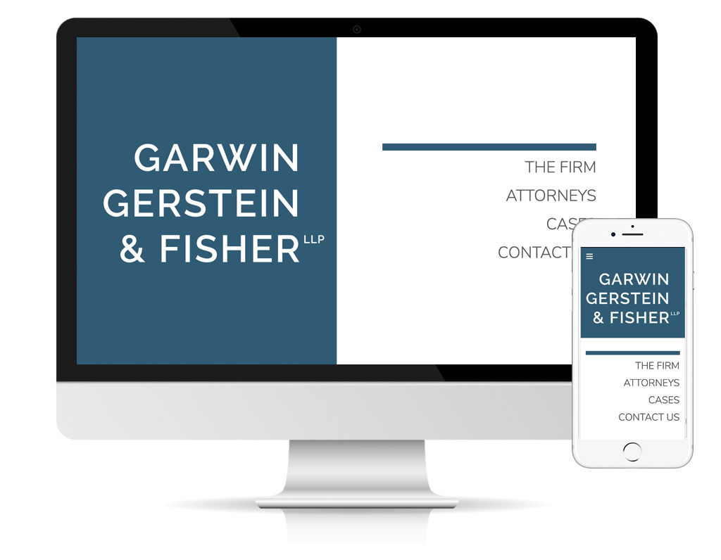 Website of Garwin Gerstein & Fisher by dlsdesign.com