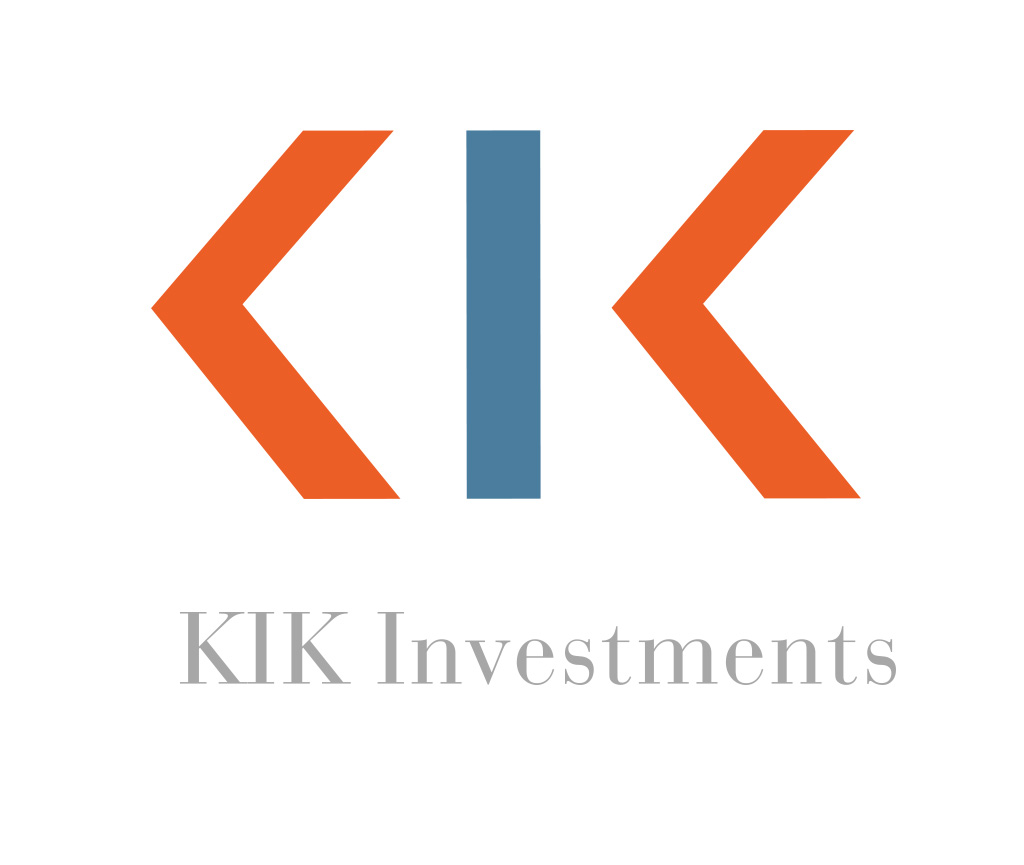 Logo for KIK Investments, designed by dlsdesign.com
